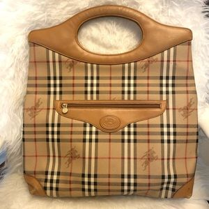 Authentic Burberry's Big Bag